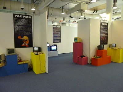 Game heroes exhibit