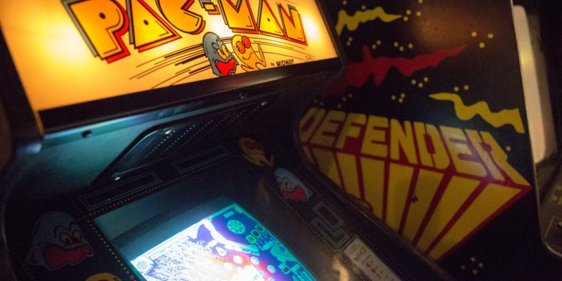 Pac-Man Evolution of Gaming / Retro-Gaming Exhibition by Isabelle Arvers