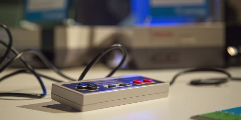 NES Controller Evolution of Gaming / Retro-Gaming Exhibition by Isabelle Arvers