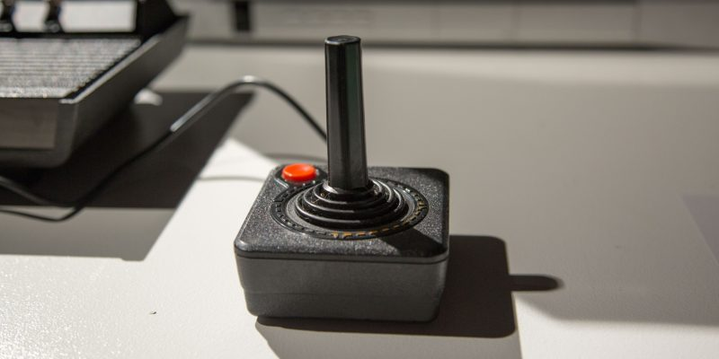 Atari Controller Evolution of Gaming / Retro-Gaming Exhibition by Isabelle Arvers