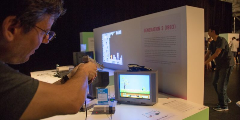 Duck Hunt Evolution of Gaming / Retro-Gaming Exhibition by Isabelle Arvers