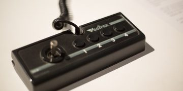 Vectrex Controller Evolution of Gaming / Retro-Gaming Exhibition by Isabelle Arvers