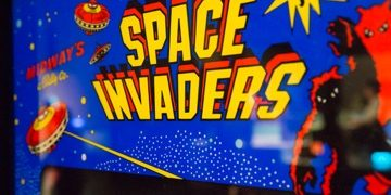 Space Invaders Evolution of Gaming / Retro-Gaming Exhibition by Isabelle Arvers
