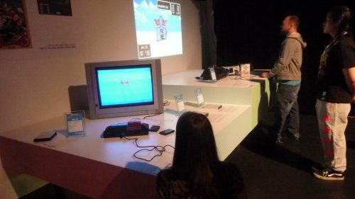 Evolution of gaming, an exhibition by Isabelle Arvers