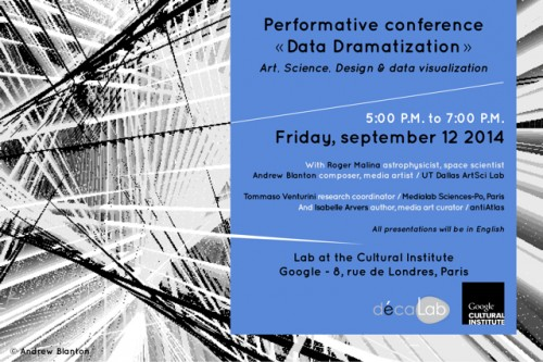 Performance Isabelle Arvers -lab-culturalinstitute