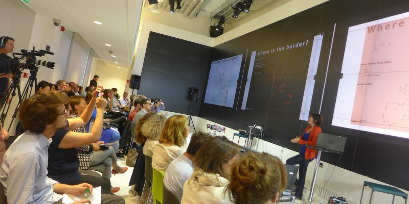 Isabelle Arvers presents AntiAtlas at Google Cultural Institute Paris