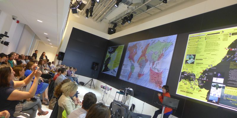 Isabelle Arvers presents AntiAtlas at Google Cultural Institute Paris
