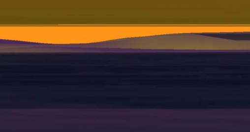Mer violette par Isabelle Arvers