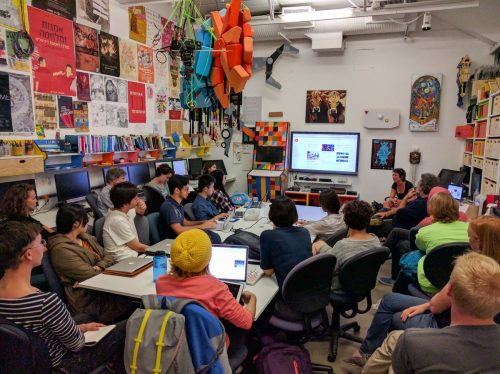 Isabelle Arvers workshop at UCLA Gamelab