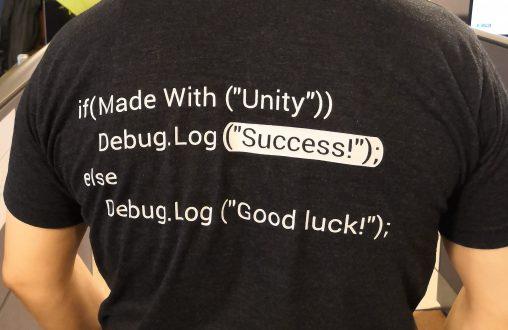 Expert Unity tee-shirt