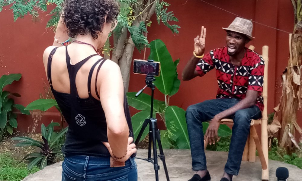 isabelle arvers contes virtuels ateliers togo