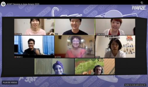 Art games world tour amaze asia arvers