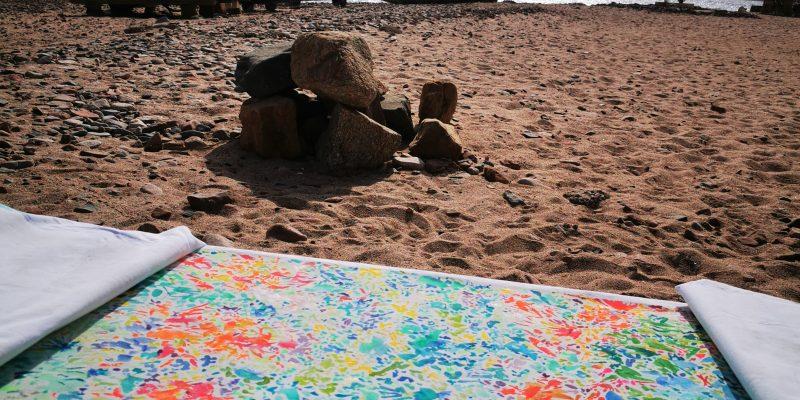Sinai Paintings Isabelle Arvers