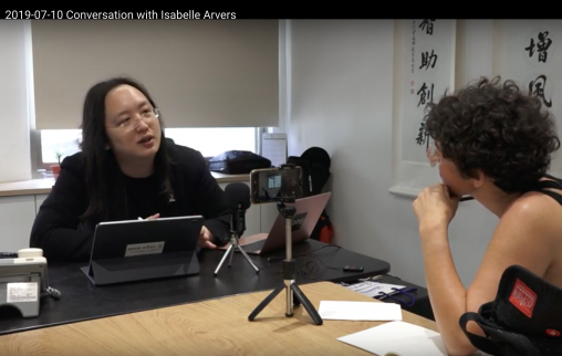 Conversation with Audrey Tang and Isabelle Arvers