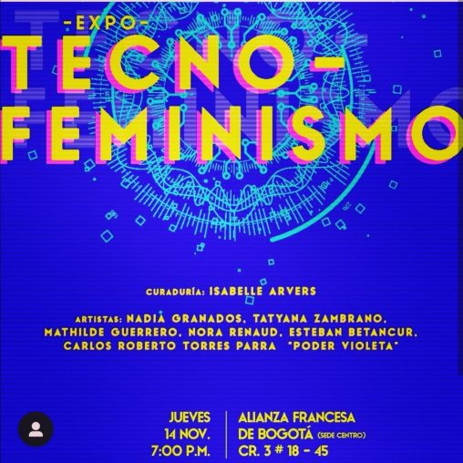 Tecnofeminismo Exposición diseñada por Isabelle Arvers