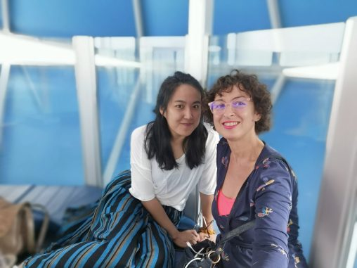 Jang Ying and Isabelle Arvers at ISEA 2019