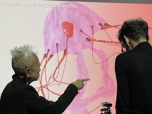 UKI Motion capture performance at Schedhalle